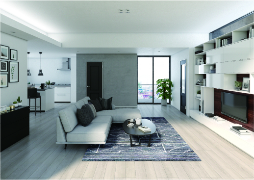 黒ならではの気品、マットな色合いは、上質な空間に落ち着きと格調の高さを加えてくれます。
